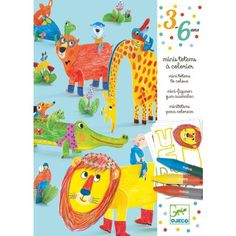 Watch children's little fingers bring this sweet world to life by colouring in, adding stickers, pressing out the shapes and assembling these totems. Features wild animals and their cheeky personalities.