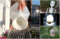 15 Creative Ways to Reuse and Upcycle Milk Jugs - Did you know that you can turn those old plastic milk jugs into some great upcycled DIY projects? I would like to think that most of use recycle them currently but milk jugs work great for crafts, projects, and other things because you always have a supply of them and they are easy to work with.