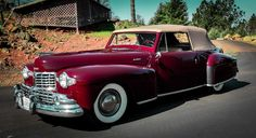 1948 Lincoln Continental Convertible Mark 1.
