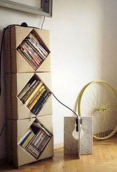 Ideas para reciclar cajas de cartón - Hogar Total