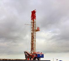 Oil rig South Texas!! What a beautiful sight !!