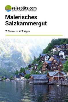 Malerisches Salzkammergut: 7 Seen in 4 Tagen - Es gibt 76 Seen im Salzkammergut. Wir stellen dir Traunsee, Attersee, Mondsee, Wolfgangsee, Gosausee, Altausseer See und Hallstätter See näher vor.