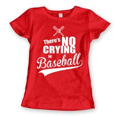 There''s No Crying In Baseball Women's Jr Fit T-Shirt DT0182 Size: LG - Slim Fit - Women Color: Pink Shop: LaughWear Transaction ID: 1045650411 Quantity: 1 Price: $13.00  Comment: I really like this! Your order number is: 1028175487.  Shipped July 13, 2015 11:14am 9400116901578294539003 Shipped with USPS July 13, 2015 11:14am Marked As Shipped By Seller  Ordered From LaughWear Grandview Heights, OH, United States