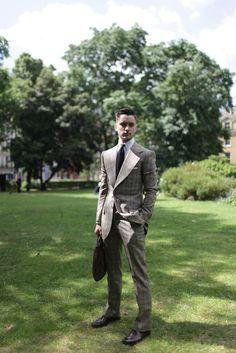 dapper - London Men's Fashion Week street style