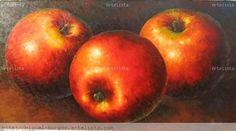 pinturas contemporaneas de manzanas - Buscar con Google