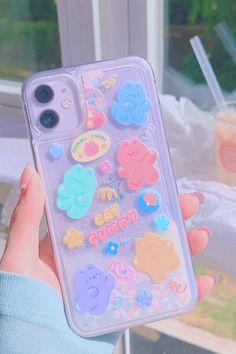 Kawaii Phone Case, Girly Phone Cases, Pretty Iphone Cases, Unique Iphone Cases, Diy Phone Case, Iphone 6, Coque Iphone, Iphone Phone Cases, Iphone 7 Plus