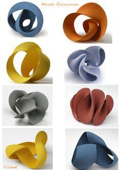 Statues as art. Abstract Sculpture, Sculpture Art, Pottery Sculpture, Paperclay, Ceramic Clay, Art Object, Organic Shapes, Geometric Art, Paper Art
