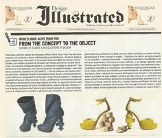 WHAT'S MORE ALIVE THAN YOU™ is on Fashion Illustrated! From the concept to the object: quando le scarpe sono questione di design