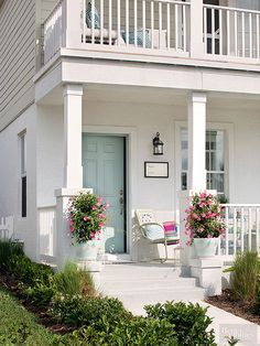 These columns are similar to what I want to create on my porch