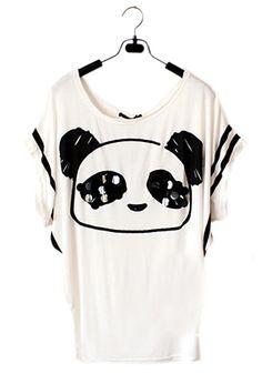 Panda Face Top
