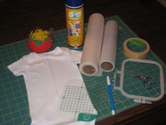 tutorial on how to center a onesie or tshirt in the hoop