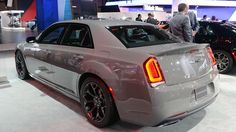 View detailed pictures that accompany our 2017 Chrysler 300S Sport Appearance Package: New York 2016 article with close-up photos of exterior and interior features. (12 photos)