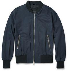AMICotton-Twill Bomber Jacket