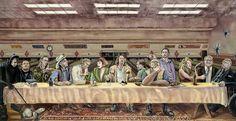 Das letzte Abendmahl: The Big Lebowski - http://www.dravenstales.ch/das-letzte-abendmahl-the-big-lebowski/