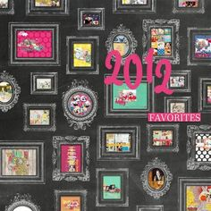 """2012 Favorites"" by Cristina, as seen in the Club CK Idea Galleries. #scrapbook #scrapbooking #creatingkeepsakes"