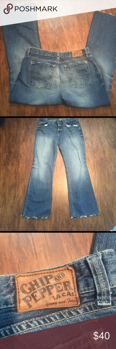 """Chip and Pepper Sorority Girl Jeans Chip and Pepper Sorority Girl Jeans Size 31 inseam 29"""" Jeans"""