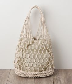 Diy Crafts - Crochet Farmers Market Bag pattern by Brittany Coughlin Bag Crochet, Crochet Market Bag, Crochet Shell Stitch, Crochet Handbags, Crochet Purses, Cotton Crochet, Filet Crochet, Cotton Cord, Cotton Bag