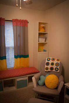 Project Nursery - Nursery Window Bench