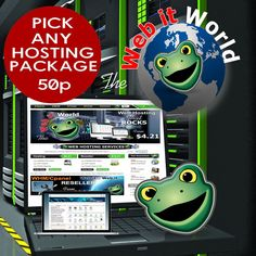 Pick Any Official Website Hosting 50p per month
