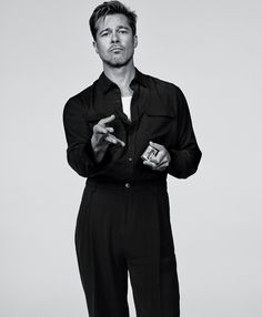 """edenliaothewomb: """" Brad Pitt, photographed by Craig McDean for T magazine, Sep…"""