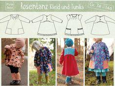 Ebook Rosentanz: Kleid und Tunika Gr. 74 – 146