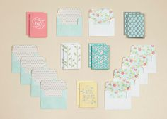 "Check out our ""Bloom"" card making kit on Etsy!"