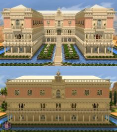Mod The Sims: Doge�s Palace -The Floating Palace- by Amichan619 � Sims 4 Downloads