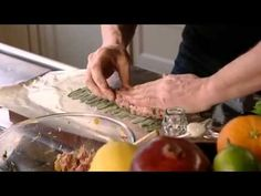 Pork, Apricot and Pistachio Stuffing - YouTube
