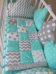 This pin was discovered by gul – Artofit Baby Duvet, Baby Pillows, Baby Bedroom, Baby Room Decor, Handmade Baby Gifts, Baby Quilt Patterns, Baby Sewing Projects, Baby Girl Quilts, Ideias Diy