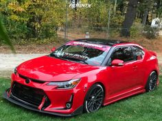 Largest Online Car Fitment Gallery Browse the largest online car fitment gallery, curated by enthusiasts, for enthusiasts. Find out what fits your car and show off your ride! Toyota Scion Tc, 2013 Scion Tc, Scion Xb, Chevrolet Camaro 2015, Scion Cars, Chevy Sports Cars, Mens Toys, Online Cars, Car Mods