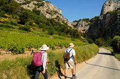 Walking in the Drome Provence