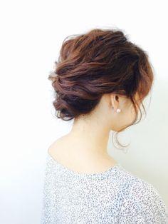 http://beauty.rakuten.co.jp/hs0206024/ 【ゆるアップ】作り込みすぎないアレンジ♪ 結婚式のお呼ばれやパーティーなど、あなたの特別な日に…☆