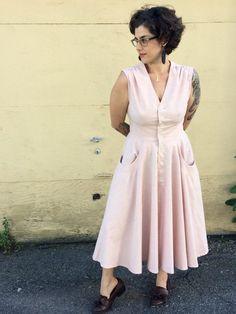 Vogue dress 8577 - The Fold Line