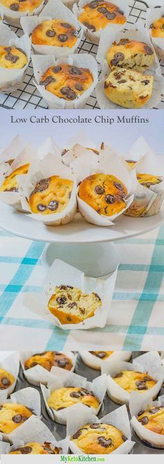 Our Low Carb Chocolate Chip Muffins are so easy to make and are not only delicious, but also very moist and fudge-y. You don't have to miss…