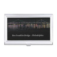 Ben Franklin Bridge, Philadelphia Card Holder