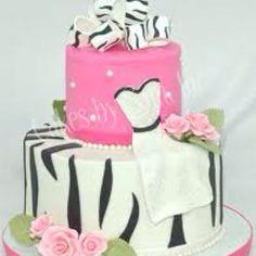 Bachelorette Party/ Bridal Shower Cake <3
