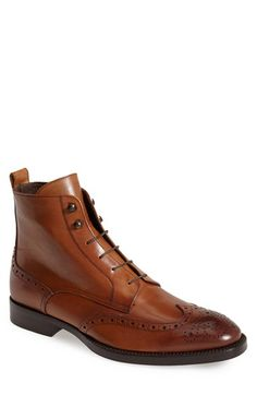 To Boot New York 'Brentwood' Wingtip Boot (Men) available at #Nordstrom