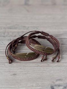 Matching couple bracelets Feather bracelets Couples bracelet couple Matching couple bracelets Feather bracelets Couples bracelet Macrame bracelet His and her bracelet Friendship bracelet Couples set - Bracelet Couple, Matching Couple Bracelets, Matching Couples, Matching Set, Diy Bracelets For Him, Handmade Bracelets, Men Bracelets, Macrame Jewelry, Macrame Bracelets