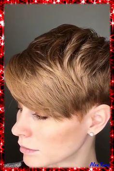 Pixie Haircut For Thick Hair, Short Pixie Haircuts, Fine Hair Pixie Cut, Butch Haircuts, Pixie Haircut Thin Hair, Pixie Cut With Long Bangs, Ftm Haircuts, Textured Pixie Cut, Pixie Cut With Undercut