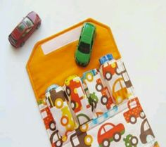 Handmade wallet for toy cars