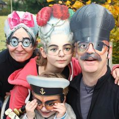 Victorian Paper Masks - Set of 8 @pipii_at_home @My Childworld .com.com £14.50