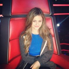 Jacquie Lee in The Voice's red chair She was sooooooo close