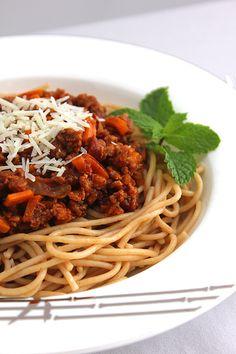 spaghetti bolognese @Muna Kenny