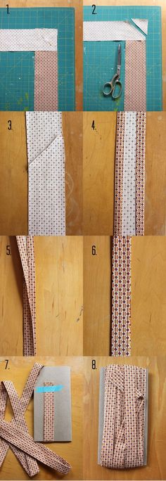 Quilt Binding Steps