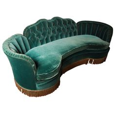 Decorate:  1920's Grand Hotel Art Deco style sofa