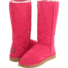 pink fleecy boots for us big girls!