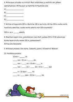 Mittaaminen ja mittayksiköt Mathematics, Words, School, Maths, Opi, Math, Horse