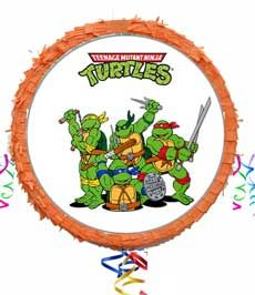 πινιάτα χελωνονιτζάκια, ninja turtles Piñata is the perfect party activity!!