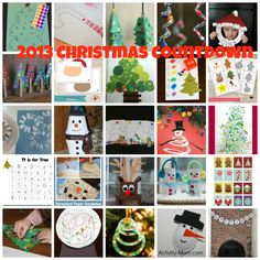 Christmas Countdown - 24 Activities and Crafts to Countdown to Christmas with your Preschooler or Toddler