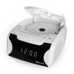 auna Dreamee USB, CD rádiobudík, USB, CD, MP3, biela farba Usb, Digital Alarm Clock, Audio, Home Decor, Decoration Home, Room Decor, Home Interior Design, Home Decoration, Interior Design